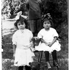 Clifford Edna and Margaret Big Canoe 1900s