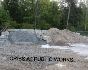 Cribs at Public Works M