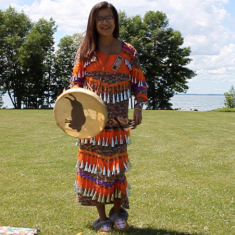 Pow Wow Ontario  On Georgina Island